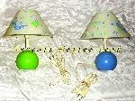 Image Lampe de chevet enfant R&M COUDERT applique Fluorescente [Petites annonces Negoce-Land.com]
