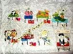 Lot de plaques décoratives avec Crochets (Neuf) offer Arts de table [Petites annonces Negoce-Land.com]