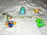 Lot de figurines à suspendre fait main (Neuf) offer Arts de table [Petites annonces Negoce-Land.com]