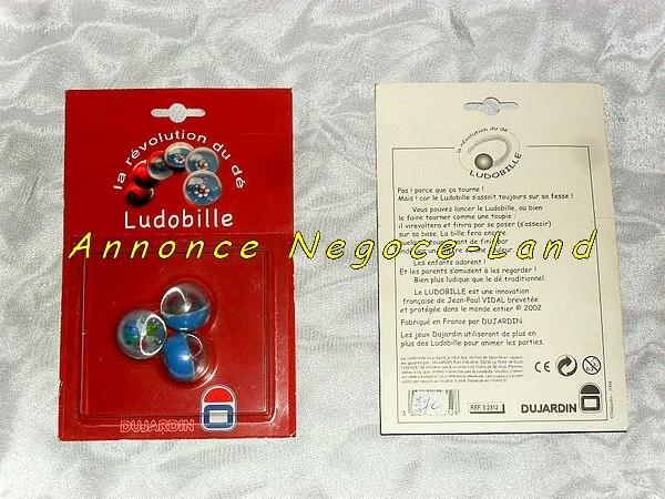 Image Pack de 3 ludobilles (dés nouvelles générations) Neuf [Petites annonces Negoce-Land.com]