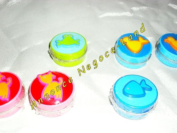 Image 11 Mini boîtes rondes colorées et motifs (Neuf) [Petites annonces Negoce-Land.com]