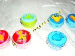 11 Mini boîtes rondes colorées et motifs (Neuf) offre Jeux - Jouets [Petites annonces Negoce-Land.com]