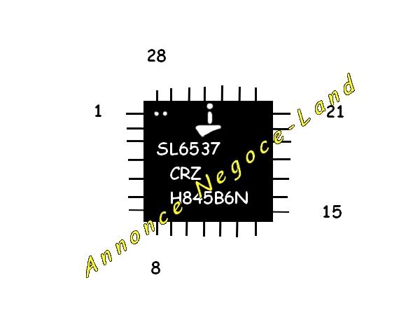 Image Composant électronique ISL6537 CRZ à souder (Neuf) [Petites annonces Negoce-Land.com]