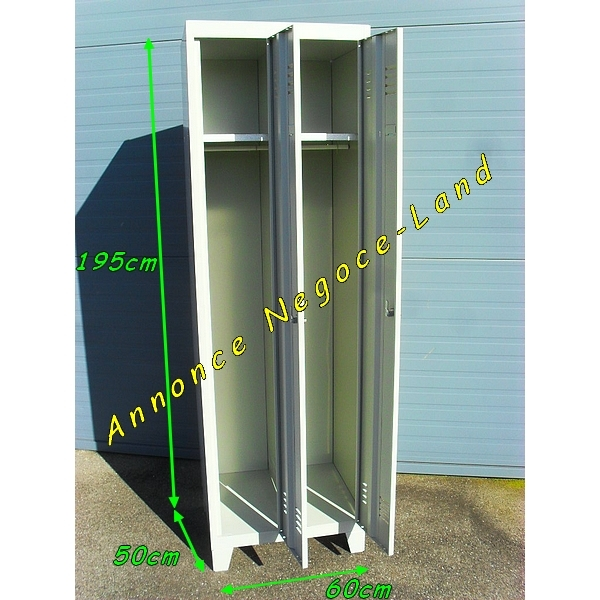 Armoire vestiaire m tallique occasion bs17 jornalagora for Porte metallique