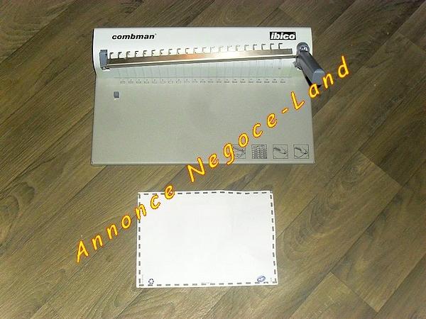 Image Perfo Relieuse manuelle Combman Ibico A4 [Petites annonces Negoce-Land.com]