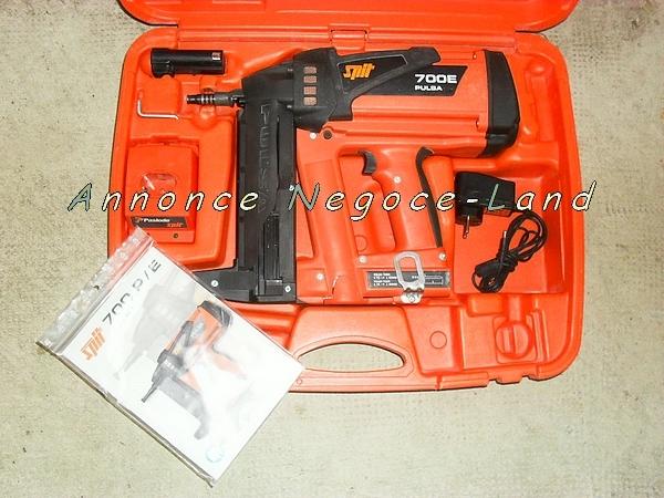 Image Cloueur à gaz Spit Pulsa 700 P E dernier modèle (Révisé) [Petites annonces Negoce-Land.com]