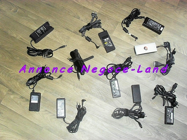 photo de Lot Chargeur d'alimentation Dell fujitsu hp compaq Mac