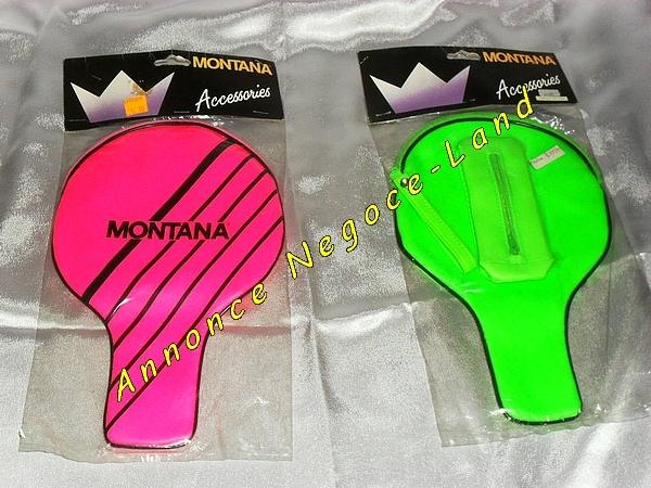 Image 2 Housses de raquette ping pong Montana (neuves) [Petites annonces Negoce-Land.com]