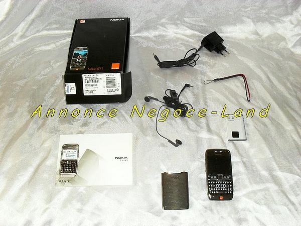 Image Téléphone portable Smart phone Nokia E71 [Petites annonces Negoce-Land.com]
