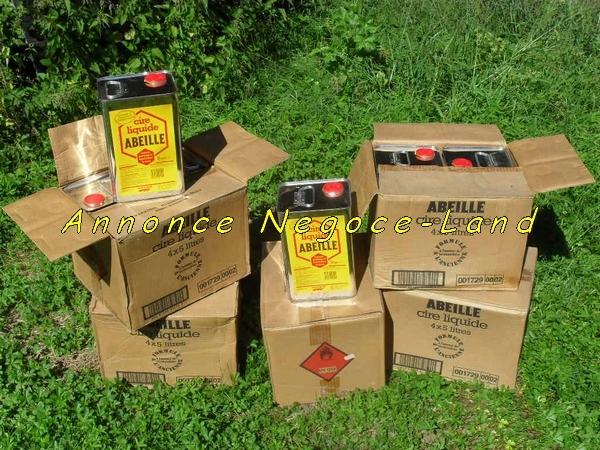 Image Cire Liquide Abeille DISTRIMAR (Bidons neufs de 5L) [Petites annonces Negoce-Land.com]