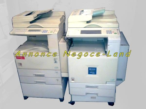 photo de 2 Photocopieurs A3-A4 Couleur Ricoh Aficio & NB  Nashuatec  (Annonce Negoce-Land)