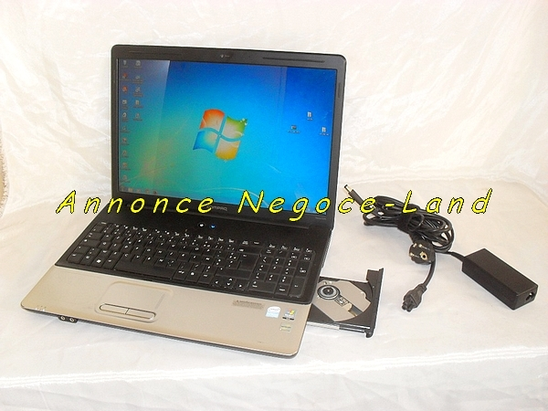 ordinateur pc portable hp compaq presario cq70 webcam annonce negoce land toulouse 31000. Black Bedroom Furniture Sets. Home Design Ideas
