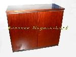 Image Armoires bois basse avec compartiment mini-bar réfrigérateur [Petites annonces Negoce-Land.com]