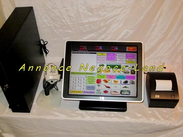 caisse enregistreuse tactile hp ap5000 compl te. Black Bedroom Furniture Sets. Home Design Ideas