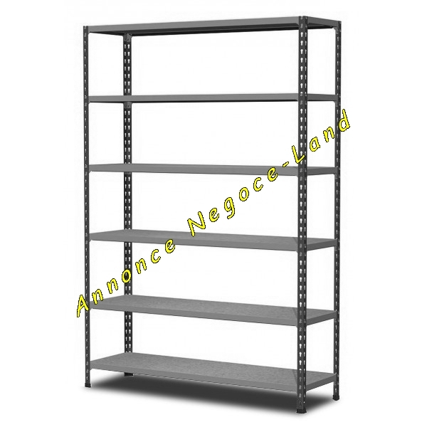 Rack rayonnage de rangement m me tr s sale negoce land com for Rack rangement garage