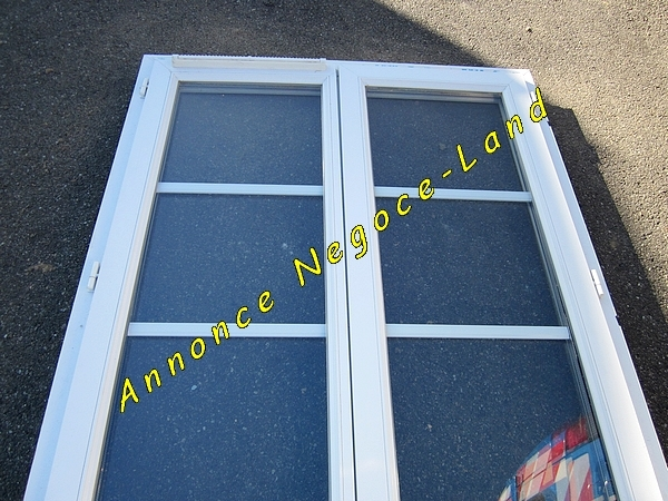 Fen tres pvc double vitrage negoce land com for Fenetre double vitrage pvc