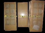 Arrivage Neuf - Lot de porte peinte et brut en Pin Sapin Massif offre Aménagements [Petites annonces Negoce-Land.com]