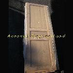 Image Arrivage Neuf - Lot de porte peinte et brut en Pin Sapin Massif [Petites annonces Negoce-Land.com]