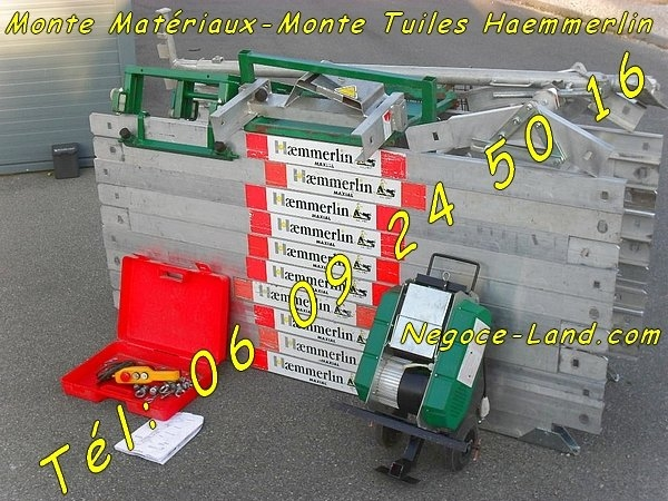 Monte charge monte mat riaux haemmerlin maxial l ve 150kg for Prix monte charge