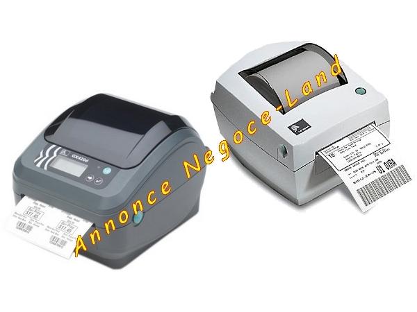 photo de 3 Imprimantes étiquette thermiques Zebra LP2844 & GK420D  (Annonce Negoce-Land)