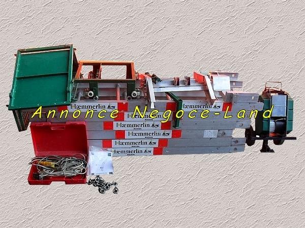 Image Monte-matériaux lève charges & tuiles Haemmerlin Maxial [Petites annonces Negoce-Land.com]