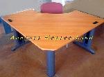 Beau bureau en bois arrondi offre Aménagements [Petites annonces Negoce-Land.com]