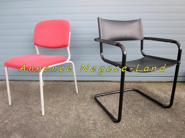 Image 2 chaises de bureau ou salle d'attente [Petites annonces Negoce-Land.com]
