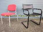 2 chaises de bureau ou salle d'attente offre Aménagements [Petites annonces Negoce-Land.com]