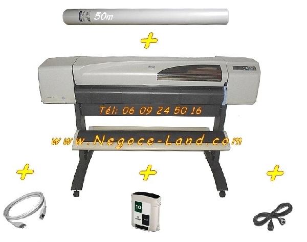 Image Traceur tireuse de plan HP DesignJet 500 A0 + Accessoires [Petites annonces Negoce-Land.com]