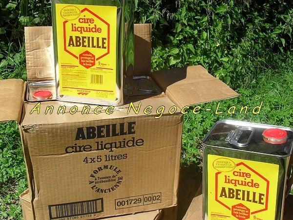 Image Cire Liquide Abeille DISTRIMAR [Bidons neufs de 5L] [Petites annonces Negoce-Land.com]