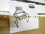 Image Bureau d'ordinateur noir Glossy et verre (Neuf) [Petites annonces Negoce-Land.com]