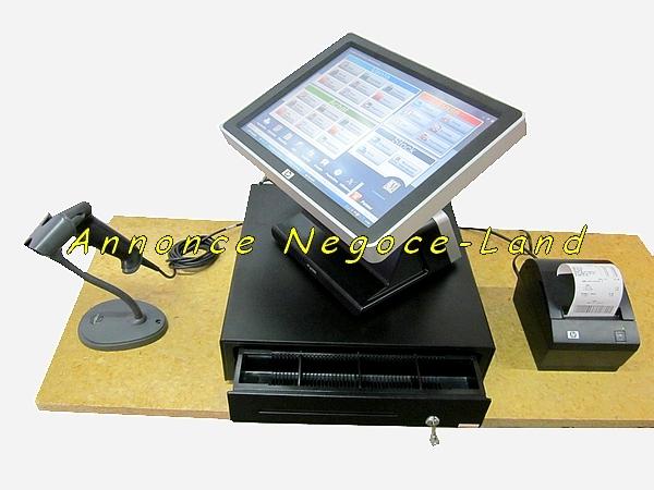 photo de Caisse Enregistreuse tactile HP ap5000 + Logiciel TPV  (Annonce Negoce-Land)