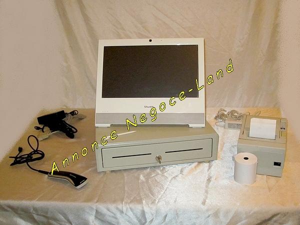 photo de Pack Caisse enregistreuse Tactile 15'' TPV Complet  (Annonce Negoce-Land)