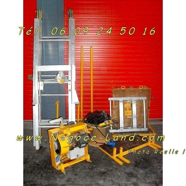 Image Location Montes matériaux Lève tuiles charge 150Kg [Petites annonces Negoce-Land.com]