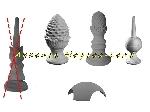 Epi de faitage décoratif & Connecteurs (neuf) offer Matériaux - BTP [Petites annonces Negoce-Land.com]