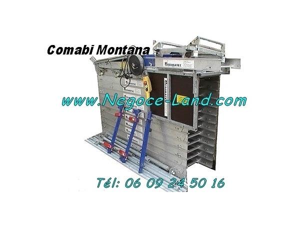 Image Monte charge lève tuiles & matériaux Edimatec Montana (20m 250Kg) [Petites annonces Negoce-Land.com]