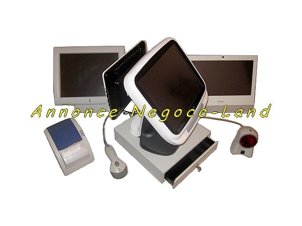 Image Arrivage ensemble caisses enregistreuses tactiles blanches (récentes) [Petites annonces Negoce-Land.com]