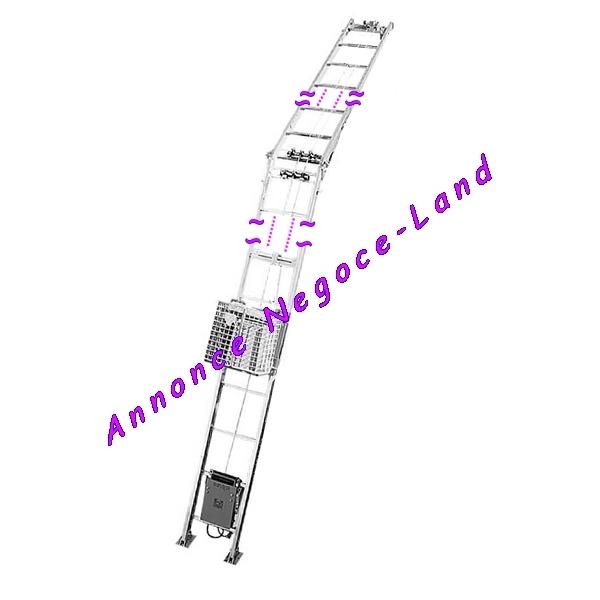 Image Monte matériaux charge Imer Lift 150 kg lève tuile 12,50m [Petites annonces Negoce-Land.com]