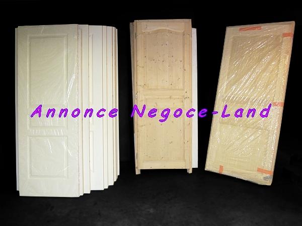 Image Lot de porte intérieur brut et peinte (Neuves) [Petites annonces Negoce-Land.com]