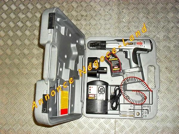 Image Visseuse à bande sans fil Automatique Senco DuraSpin DS50-14v [Petites annonces Negoce-Land.com]