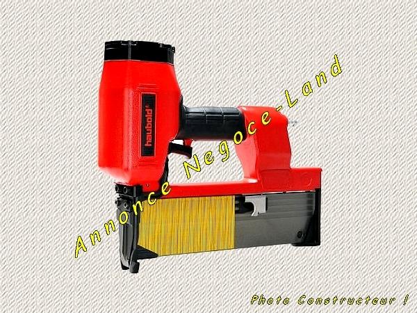 Agrafeuse cloueuse pneumatique ALSAFIX Haubold PN9180XII [Petites annonces Negoce-Land.com]