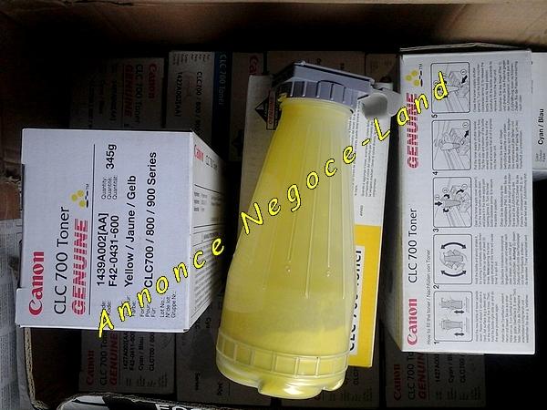 Image Toner Canon CLC 700/800/900 Jaune Yellow Original [Petites annonces Negoce-Land.com]