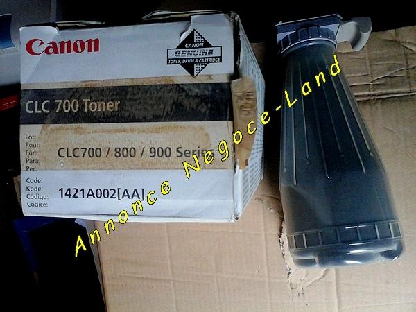 Image Toner Canon CLC 700/800/900 Black Noir Original [Petites annonces Negoce-Land.com]