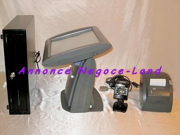 caisse enregistreuse tactile posligne galeo. Black Bedroom Furniture Sets. Home Design Ideas