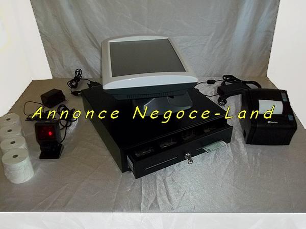 caisse enregistreuse tactile saga perimatic tpv. Black Bedroom Furniture Sets. Home Design Ideas