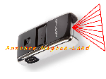 Image Mini scanner code barres opticon OPN-2001-USB [Petites annonces Negoce-Land.com]