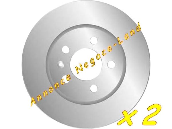 Jeu de 2 disques de frein avant Mga D1191 (Neuf) [Petites annonces Negoce-Land.com]