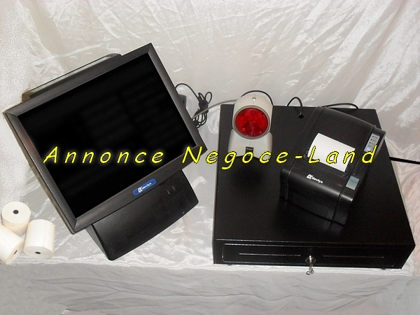 photo de Caisse Enregistreuse tactile Partner LX-5800 Devlyx  (Annonce Negoce-Land)