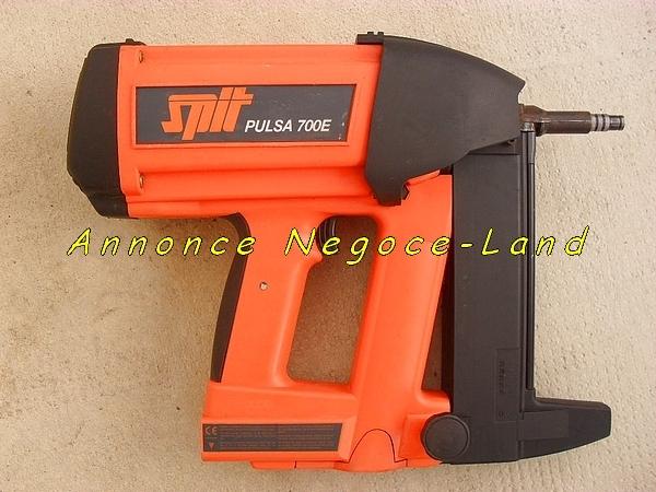 Image Cloueur automatique à gaz Pulsa Spit 700 P/E [Petites annonces Negoce-Land.com]