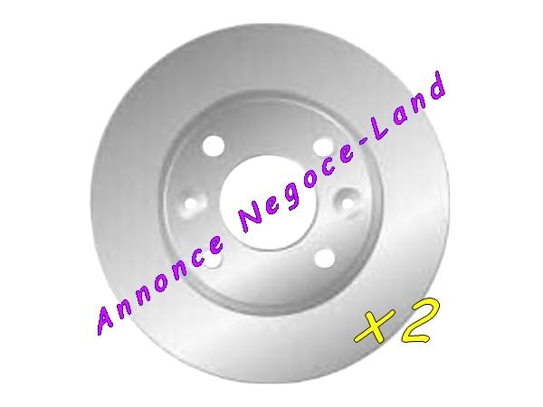 Jeu de 2 disques de frein avant Mga D910 (Neuf) [Petites annonces Negoce-Land.com]